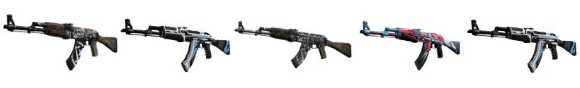 CS go best guns rifles