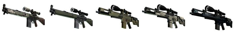 CS go best guns sniper rifles
