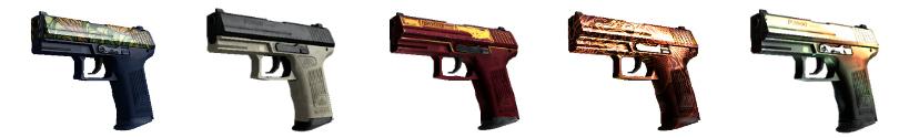 CS go best guns pistols