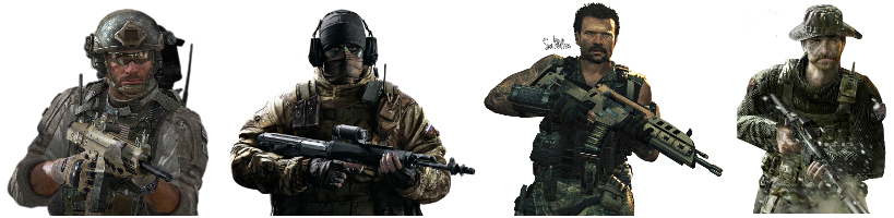 cod roles of play