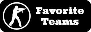 cs go favorite teams