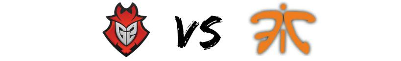 g2 vs fnatic