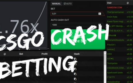 cs go crash betting site