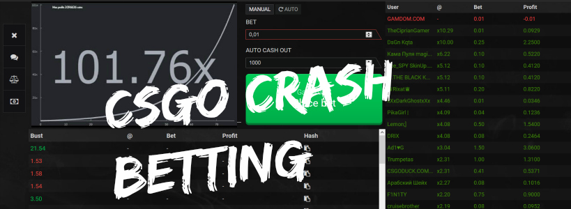 cs go casino crash game