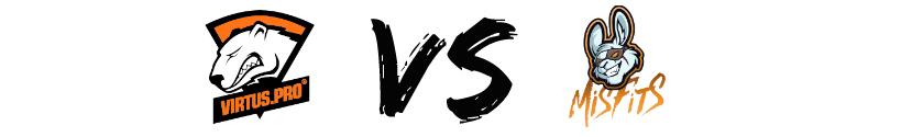 virtus.pro misfits teams