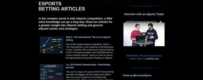 pinnacle esports top list review