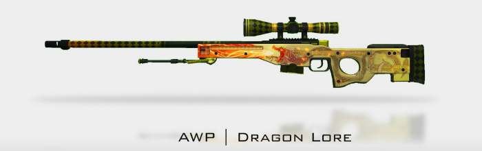 counter strike dragon lore skin