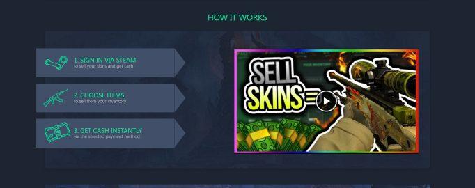 Skins.Cash top list Reviews