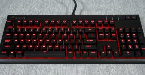 Corsair STRAFE keyboard
