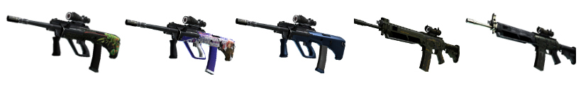 CS go best guns rifles