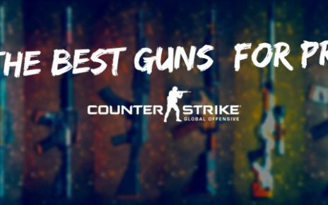 CS go popular guns