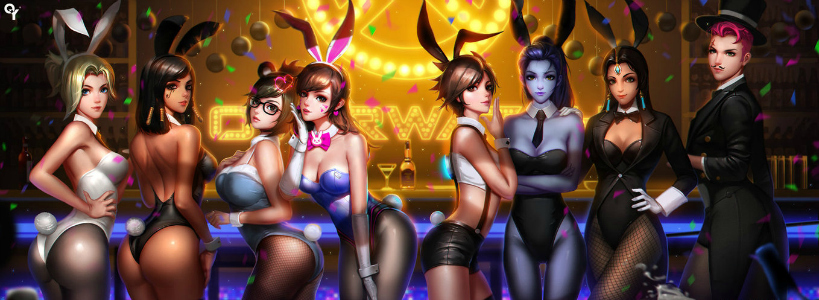 overwatch heroes girls