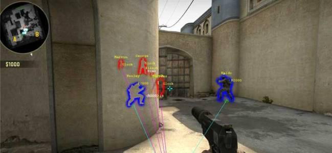 csgo wall hacks and aimbot