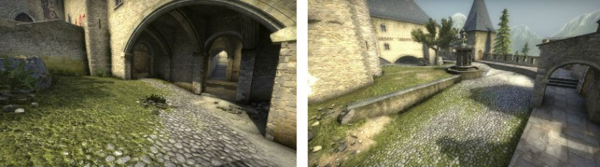 Counter-strike Cobblestone