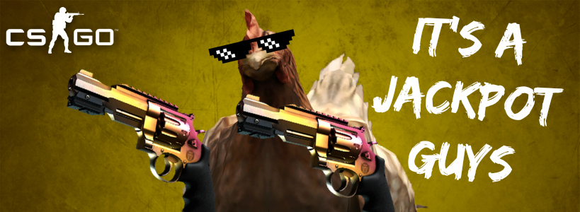 cs go skins betting jackpot