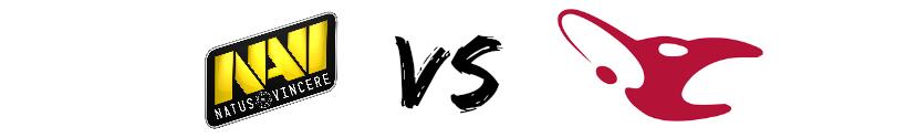NaVi vs Mousesports