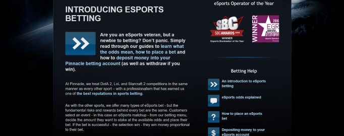 pinnacle esports best reviews