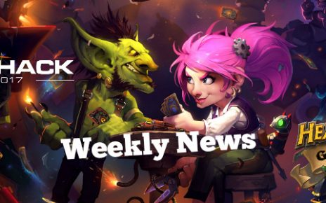 Hearthstone Weekly news