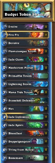 hearthstone token shaman decks