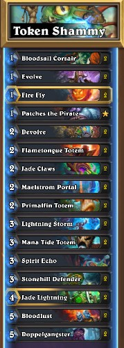 token shaman hearthstone deck guide