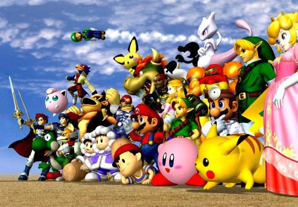super smash brother melee