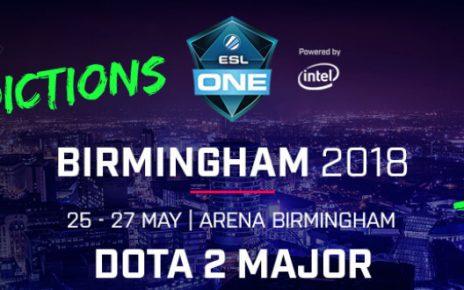 Esl dota champ tournament event 2018