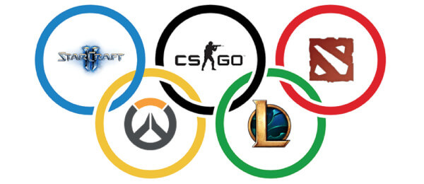 olympics esports csgo lol dota2 overwatch