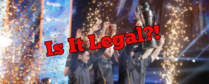 esports cs go dota lol legal betting